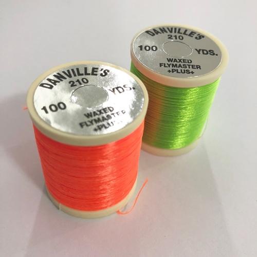 DANVILLE FLYMASTER PLUS 210 Denier 100 yd spool Fly Tying thread